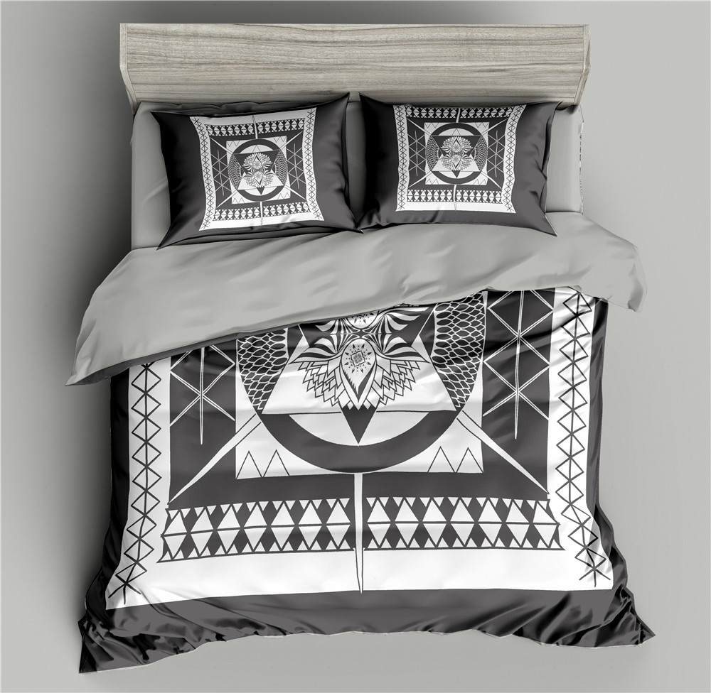 Floral Pattern 3D Bedding Set Black Duvet Cover Bed Comforter Sets Quilt Covers Sets Single/Twin/Full/Queen/King/Double Size