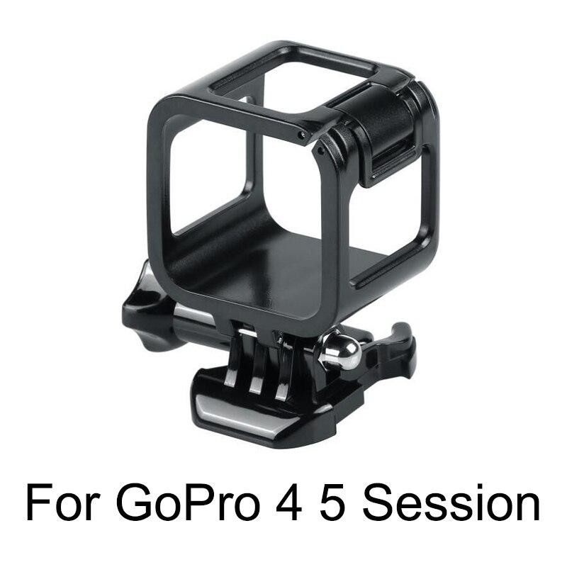 23в1 стандартная защитная рамка с объективом камеры из закаленного стекла + комплект аксессуаров для крепления на шлем для GoPro Hero 4 5 Session