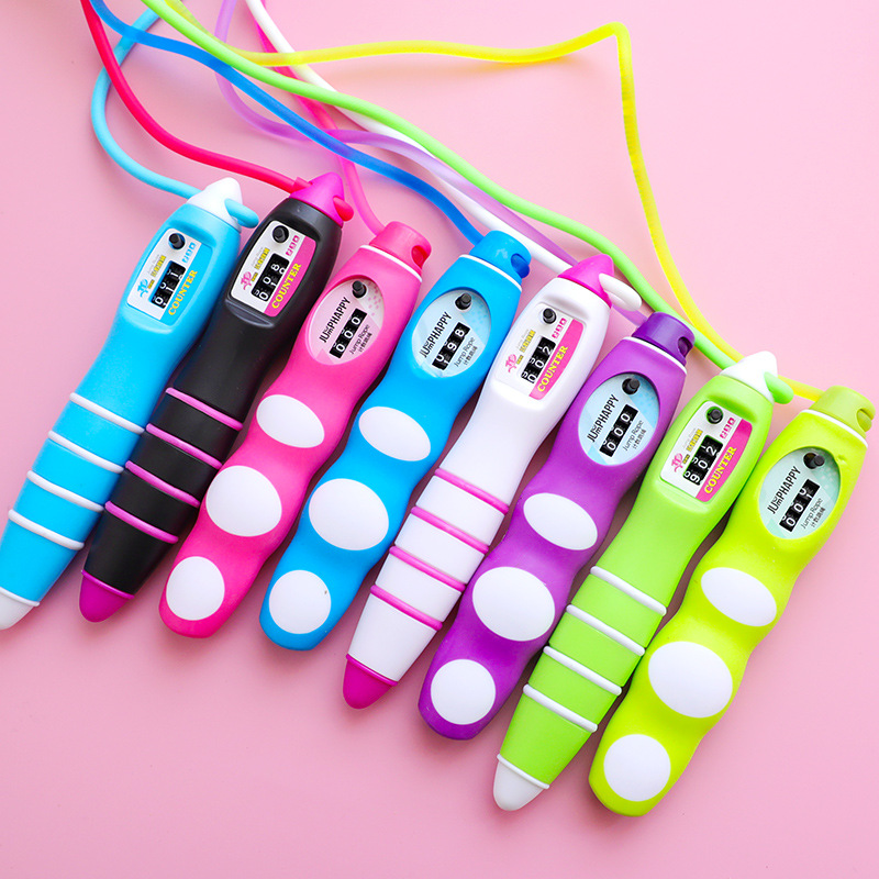 Children Sports 9' Prizes Jump Rope Only Counter The Academic Test For The Junior High School Students Young STUDENT'S Jump Rope