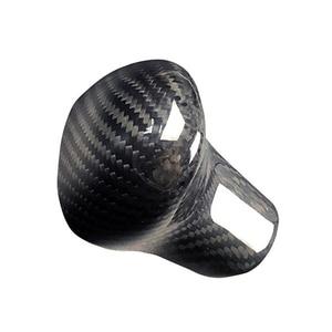 Image 3 - New Carbon Fiber Shift Knob Head Cover for Audi Old Models A4/A5/A6/A7/Q3/Q5/Q7 Gear Shifter Lever Stick