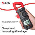 Auto Range Clamp Meter Voltmeter ST209 Electrician Digital Multimeter 400V 6000 Counts True RMS Amp Current Tester for Mesuring