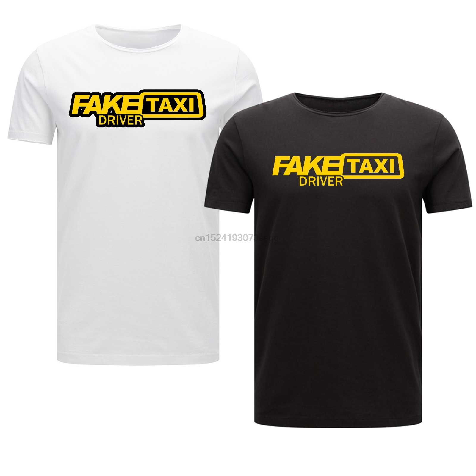 Fake Taxi Driver Mens Kid Women Black Funny Rude T Shirt Stag