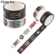Flyingbee 15mmx5m horror movies washi tape the twins tapes decorative