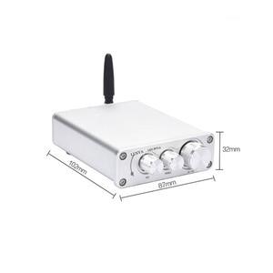 Image 4 - Lusya AMPLIFICADOR DE POTENCIA HiFi QCC3003, Bluetooth 5,0, 50W x 2, estéreo, TPA3116, amplificador de Audio en casa con I4 005 6 de ajuste de graves agudos