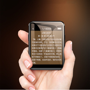 Image 5 - Originele Benjie X1 16 Gb/32 Gb Mini MP3 Bluetooth Speler 1.8 Nches Full Touch Screen Draagbare Muziekspeler bluetooth Met Hoofdtelefoon