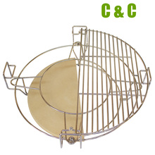 Divide and Conquer Cooking System For 21 inch Kamado High Quality Round Kamado BBQ Grill Accessories