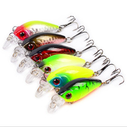 4.5cm 4.2g Crankbait Fishing Lure Artificial Crank Hard Bait Topwater Minnow Fishing Wobblers Fish Lures Lure Spinner Bait