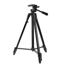 Tripod Aluminum Alloy Professional Portable Travel SLR Camera Tripod with 3-way Head for Canon Nikon Mobile Phone