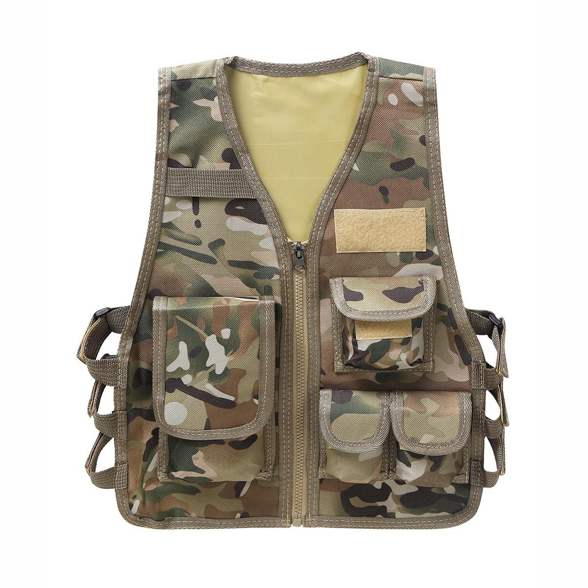 Outdoor vest for children.