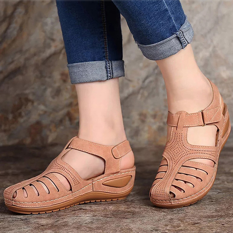 Women Sandals New Summer Shoes Woman Plus Size 46 Heels Sandals For Wedges Shoes Female Casual Shoes Gladiator Sandalias Mujer title=