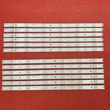 12 Uds LED retroiluminación para LC-49CFE6032E LC-49CFE5002E LY.45J01G001 LC-49CFF5001K LC-49CFE6031K RF-AJ490E32-0601L-01 A1 0601R