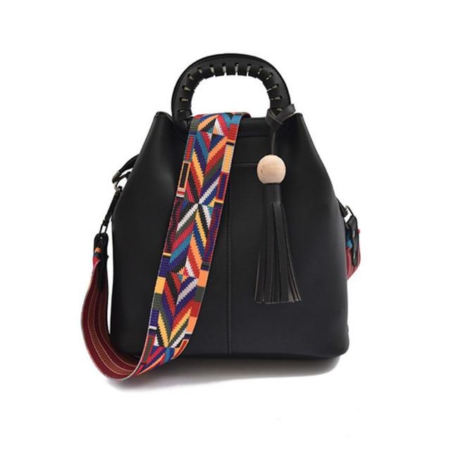Nouvelle mode luxe coloré sangle sauvage femme personnalité fleur Rivet bandoulière accessoires O sac poignées Obag
