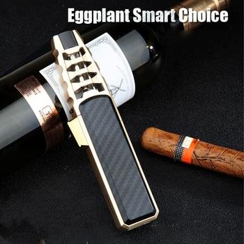 2020 New Pen Spray Gun Jet Butane Pipe Lighter Metal Gas Kitchen Welding Torch Turbo Windproof Cigar Lighter Gadgets For Men недорого