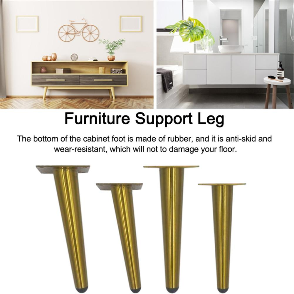 Stainless Steel Furniture Legs Tilted Cabinet Legs Coffee Table Bench Desk Sofa Bed Feet Anti-skid Furniture Legs Feet