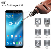 25 Pcs Tempered Glass For DOOGEE X55 Screen Protector 2.5D 9H Premium Protective Film