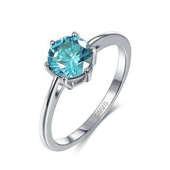 Women Wedding Engagement Ring Jewelry 925 Silver Jewelry