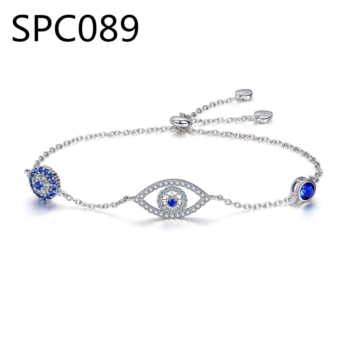 (Without Box) SPC5 Alloy Charm Women Bracelet with Murano Glass Beads Fashion DIY European Style Jewelry