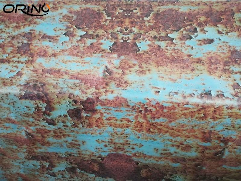 Rusty Car Sticker Wrap Foil-6