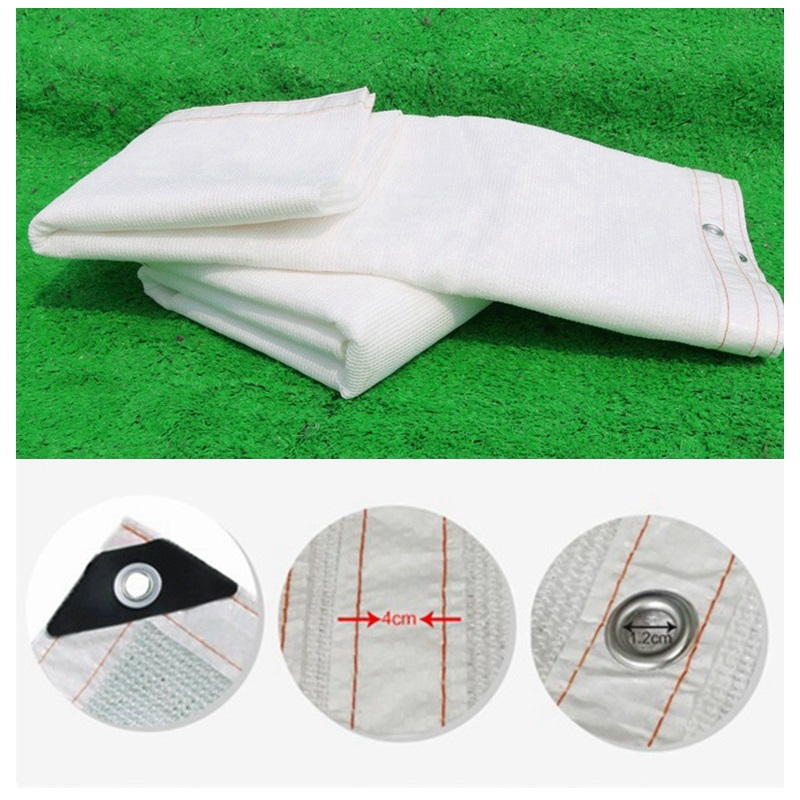 Custom Size 2pieces 1.2x1.2m Anti-UV HDPE Sunshade Net Please Contact Us First