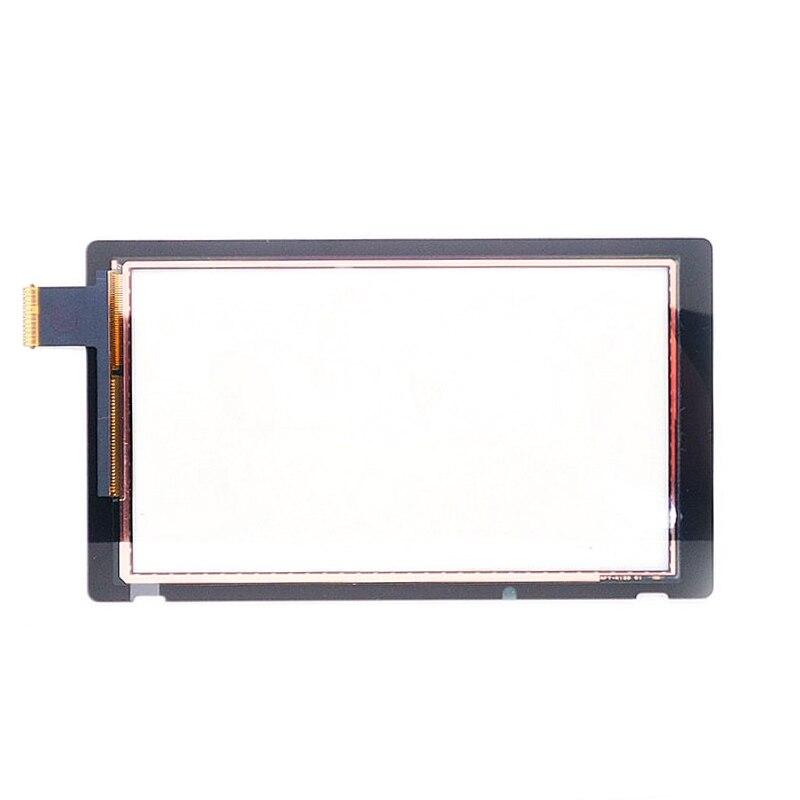 1 шт. Замена для Nintendo Switch сенсорный экран дигитайзер + клейкие полосы стикер для NS Switch Прямая поставка