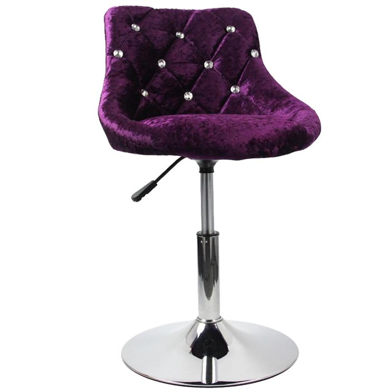 Creative Bar Chair European   Lift High Stool   Modern Minimalist  Backrest
