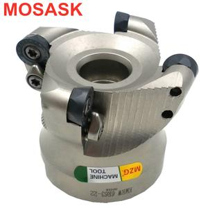 MOSASK EMRM Adapter EMRM5R262M12 Cemented Carbide Blade RP Locking Cutter Head CNC Round Nose Face Milling Cutter