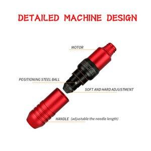 Image 4 - Nieuwe Collectie Rocket V3 Tattoo Machine Rotary Pen Met Japan Motor Sterke Rustig Voor Cartridge Liner En Shader Supply