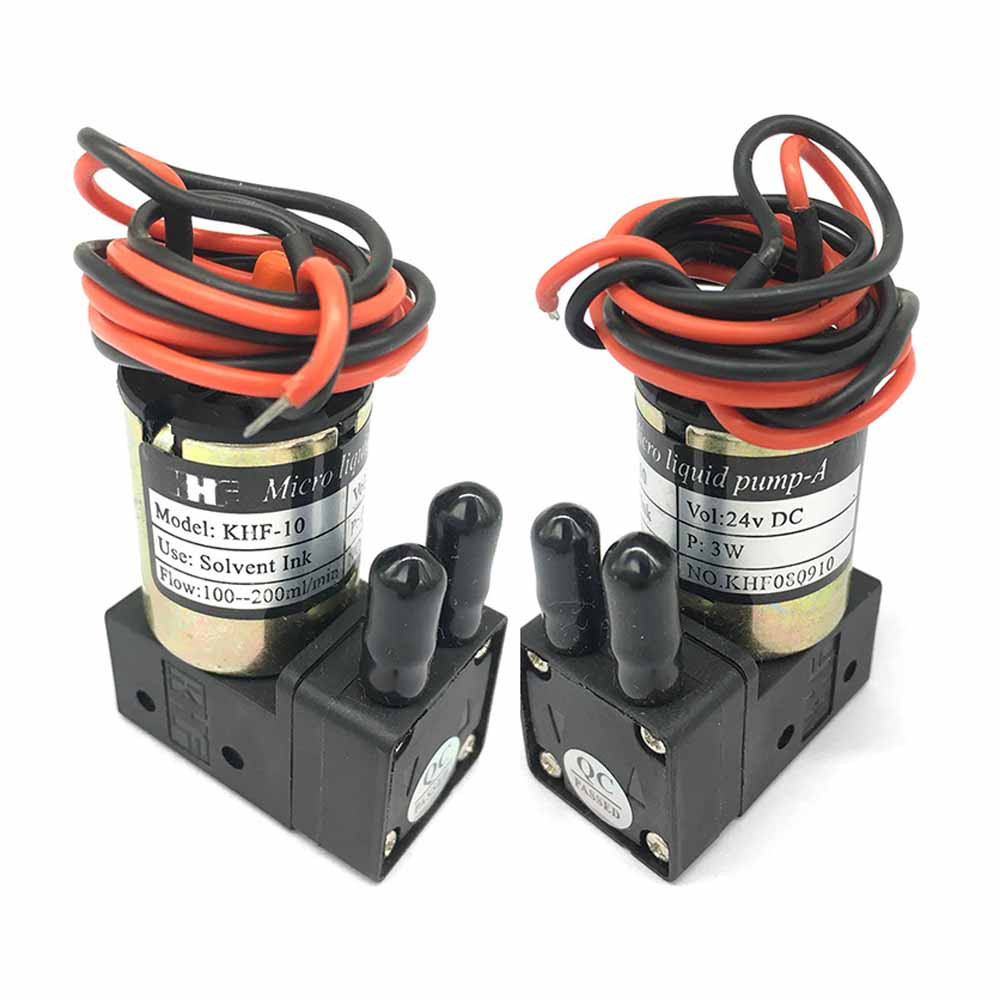 Solvent Inkjet Printer 3W 7W 10W Printer Ink Pump 24V