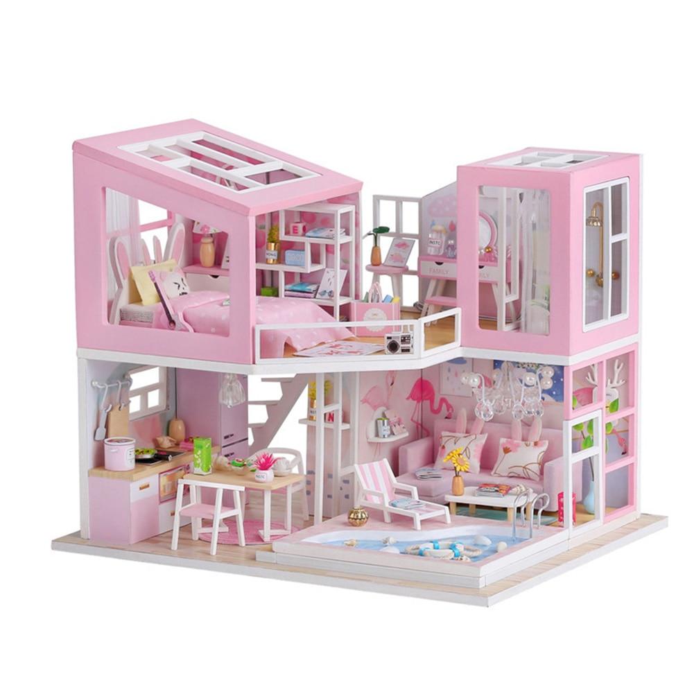 Hf52f4aeffb044af882d060b8dd57ce23z - Robotime - DIY Models, DIY Miniature Houses, 3d Wooden Puzzle