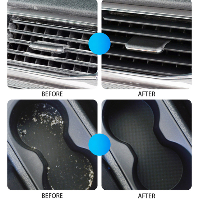 Car Cleaning Glue Cleaner Gel Keyboard Cleaning Gel Super Clean Slimy Gelatin Clean Auto Dashboard Tools Car Detailing Products 5