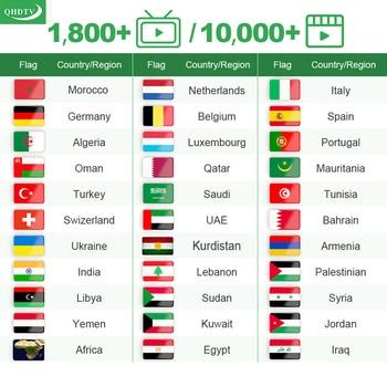 QHDTV IPTV Arabic Belgium Android M3U IPTV Algeria IPTV Germany Netherlands Morocco Turkey QHDTV No APP Include qhdtv ip tv arabic netherlands france iptv box hk1 mini android 9 0 4g 128g bt dual band wifi iptv france arabic belgium qhdtv