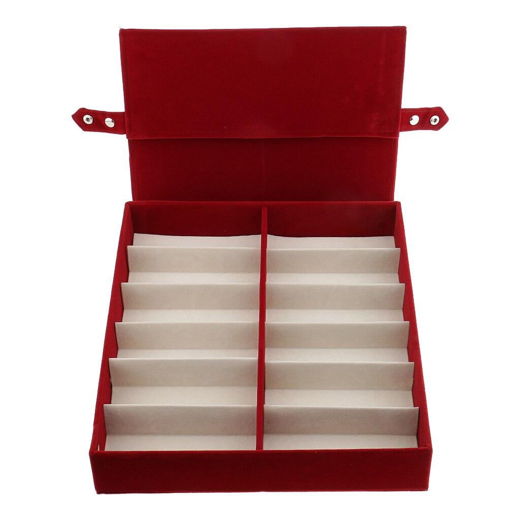 2 stücke Einzelhandel Speichert Brillen Lagerung Box Sonnenbrille Display Fall Rack Stehen - 5