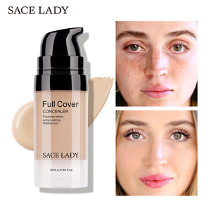 SACE LADY Face Concealer Cream Full Cover Makeup Liquid Facial Corrector Waterproof Base Make Up for Eye Dark Circles Cosmetic(China)