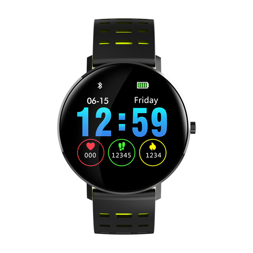 L6 Smart watch IP68 Waterproof Fitness Tracker Heart Rate Monitor Blood Pressure Bluetooth Smartwatch For Android IOS xaiomi