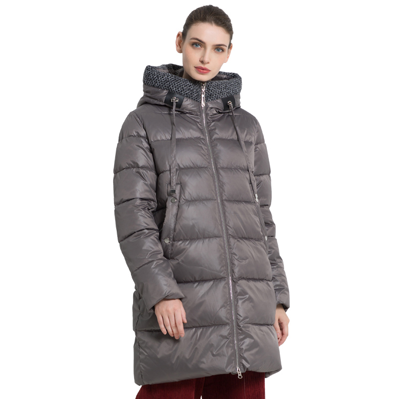 ICEbear 2019 New Winter Women's jacket Fashion Female Coat High Quality Woman coat Brand Apparel GWD19555I icebear 2018 new autumn women cotton padded high quality thermal short paragraph slim women s jacket fall woman jacket gwc18126d