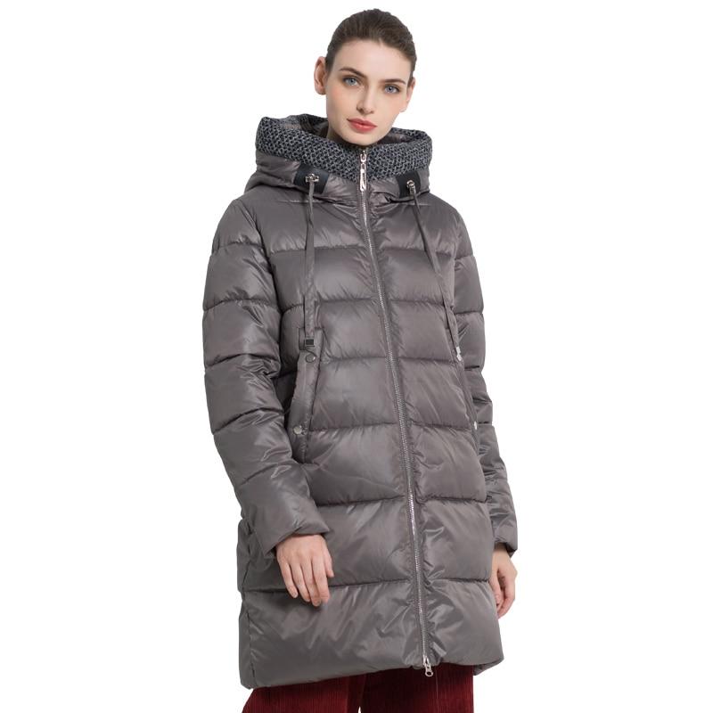 ICEbear 2019 New Winter Women's jacket Fashion Female Coat High Quality Woman coat Brand Apparel GWD19555I icebear 2018 new autumn women coat cotton fashion ladies jacket high quality autumn jacket detachable hat brand coat gwc18038d