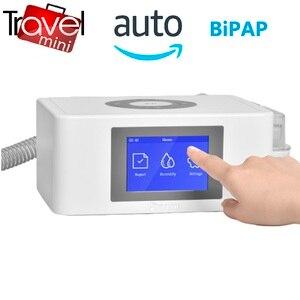 Image 1 - MOYEAH נסיעות מיני BPAP נשימה מכונה נייד אוטומטי BIPAP הנשמה ציוד רפואי עם מסכת צינור אנטי לנחור דום נשימה בשינה