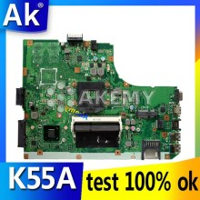 AK K55A carte mère d'ordinateur portable pour ASUS K55A A55V K55VD K55V K55 Test carte mère d'origine GM(China)
