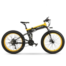 BIG POWER 1000W Electric Mountain Bike 26 inch 48V Hidden Battery Shimano 27 Speed Full Suspension