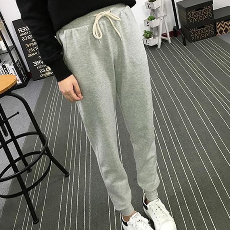 Модные женские брюки из Харлана размера плюс свободные однотонные простые брюки повседневные стильные брюки 2020 новая женская одежда