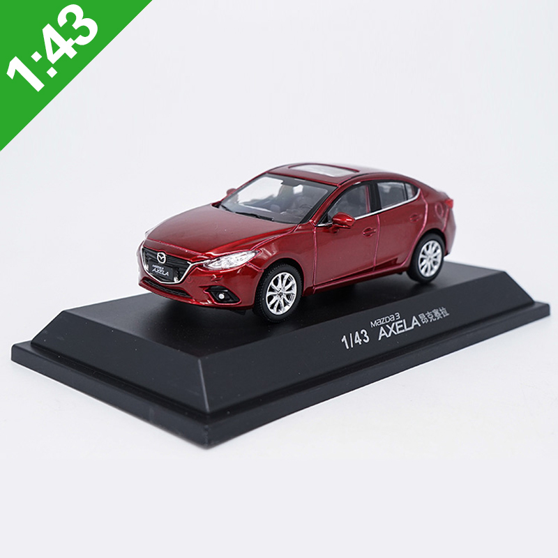 High Meticulous <font><b>1:43</b></font> MAZDA3 AXELA Alloy Model <font><b>Car</b></font> Static Metal Model Vehicles Original Box For Gifts Collection image