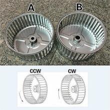 цена на Centrifugal Fan Wheel Pellet Stove Blower Wheel Impeller Wheel Blades For Laundry Dryer Machine Fireplace Furnance Blower Motor