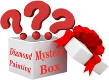 Blind Box Random Diamond Painting - Mystery Box Surprise 5D DIY Diamonds Full Drill Home Wall Decor Creative Gift