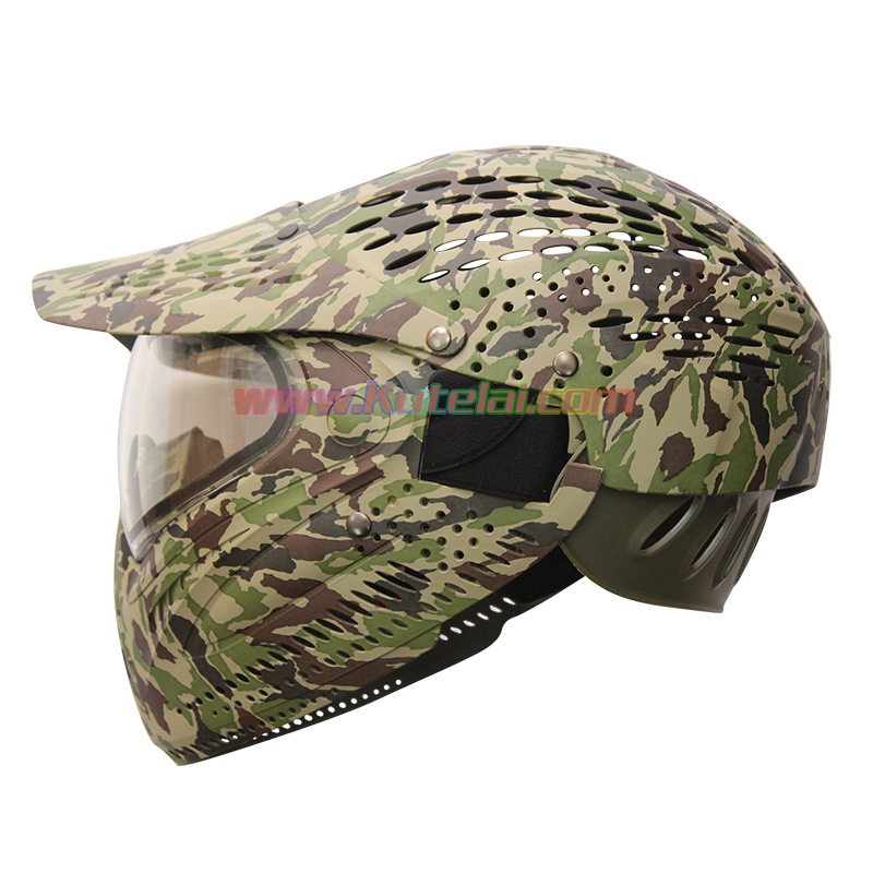 Manufacturers Direct Selling Field Operations All Edges Included Mask Camouflage Helmet Tactical Helmet Paintball Ski Helmet Spo