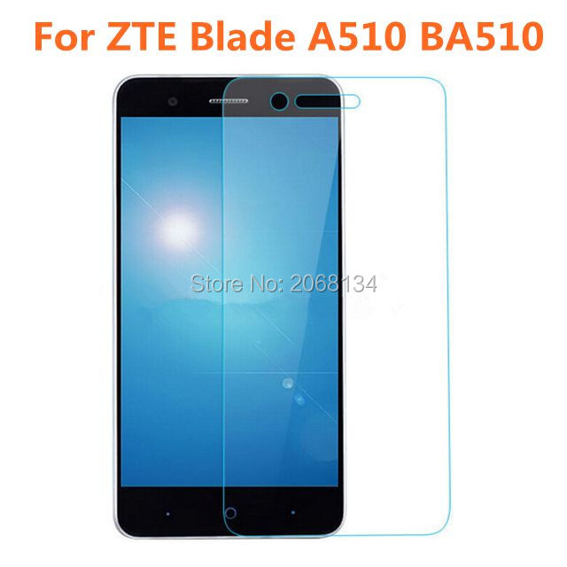 For ZTE Blade A510 Tempered Glass Original 9H Protective Film Explosion-proof Safety Guard Screen Protector For A510T BA510