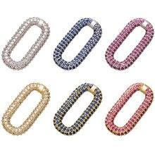 ZHUKOU DIY rechteck haken für schmuck machen frauen DIY Halskette anschlüsse ohrringe anhänger Zubehör liefert modell: VK91