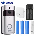 EKEN V5 Smart WiFi Video Deurbel Camera Visuele Intercom met Chime nachtzicht IP Deurbel Draadloze Home Security Camera