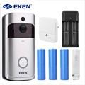 Eken V5 смарт WiFi видео дверной звонок камера визуальный домофон с колокольчиком ночного видения IP дверной звонок беспроводная домашняя камера...