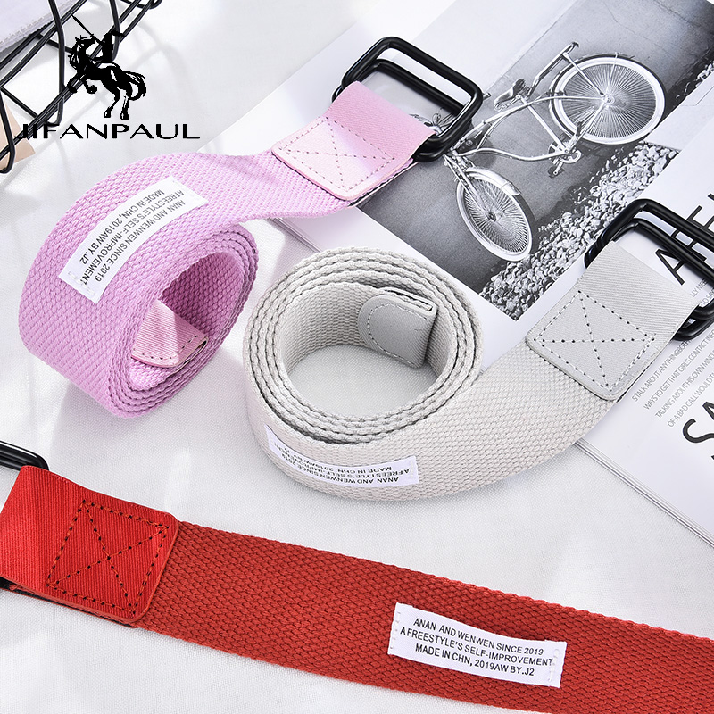 JIFANPAUL Best Selling Women's Adjustable Fashion Retro Casual Belt For Jeans With Students Top Quality New Belt Free Shipping