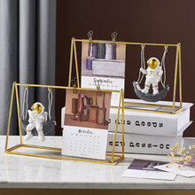 Space Man Figurines Home Decoration Accessories For Living Room Astronaut Statues Office Desk Decoration Children Birthday Gifts